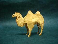 Bactrian Camel #3 (shuki.kato) Tags: paper mammal origami camel fold ungulate bactrian kato shuki
