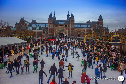 Christmas at Museumsquare in Amsterdam