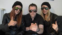 UNHUGO (evil king) Tags: girls film leather forest dark movie blood woods comedy cops gore horror chicks bloody behindthescenes makingof splatter feature freaks thriller gory tollmais unhugo tollmaismovies