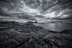 Svolvr, Lofoten (cpphotofinish) Tags: ocean blue autumn light sky panorama mountain color colour reflection fall water rain weather norway clouds canon dark landscape outside island eos daylight norge photo reflex day skies foto image harbour outdoor panoramic norwegian nordic dslr scandinavia canondslr lofoten havn bilder vann bluelight skyer kaia hst hurtigruten landskap bilde svolvr norske farger mk3 nordland skandinavia svinya canonef ef14mmf28lusm carstenpedersen canonmkiii mklll canon5dmk3 eos5dmk3 verdensvakrestesjreise cpphotofinish canonredlable