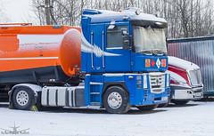 Renault Magnum 500 (ssajiji) Tags: truck transport renault lorry vehicle trailer logistics  domodedovo
