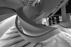 Staircase in Giorgio Armani Store on 5th Avenue, NYC (nianci pan) Tags: nyc abstract geometric architecture stairs store pattern geometry manhattan sony 5thavenue staircase pan  giorgio armani   sonyalphadslr nianci sonyphotographing