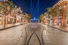 Disneyland (Jonny C.) Tags: longexposure nikon disneyland disney hdr mainstreetusa sleepingbeautycastle nikond610