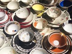(caroline_meer) Tags: berlin vintage collection cups dishes fleamarket tassen flohmarkt