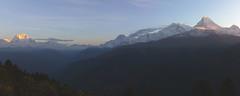 Sunrise on Poonhill, Annapurna Basecamp Trek, Nepal (JFB Photography) Tags: nepal mountain sunrise landscape valley annapurna himalayas poonhill abctrek