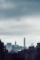 City and Clouds (Ben PG) Tags: street nyc newyorkcity bridge shadow sky newyork building skyline clouds downtown manhattan streetphotography williamsburg chryslerbuilding