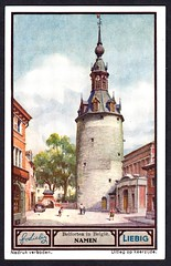 Liebig Tradecard S1330 - Namen (Namur) (cigcardpix) Tags: church bells vintage advertising belgium ephemera liebig tradecards