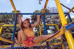 _ITA1265 (Edson Grandisoli. Natureza e mais...) Tags: parque cidade brinquedo brincar urbano menina brincando 4anos trepatrepa regiosudeste reaverde jovemcriana