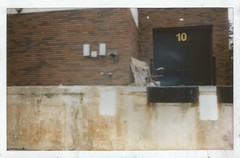 left for later (kristen cynthia) Tags: abandoned rust decay wide antiques instantfilm fujifilminstax