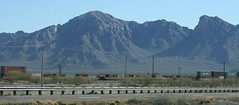 Arizona Mountains Train Highway (cobalt123) Tags: arizona canon tucson firstphotos age11 2016 anavey tucsonrockandgemshow xti canonrebelxti anaveybolender