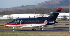 G-GMAB BAE 125-1000A (douglasbuick) Tags: plane scotland airport nikon flickr gamma glasgow aircraft aviation jet bae d40 egpf ggmab 1251000