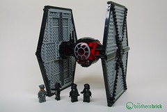 75101 First Order Special Forces TIE Fighter (The Brothers Brick) Tags: set starwars fighter lego review tie 2015 firstorder 75101 theforceawakens