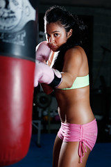 Danica - The Boxer (Rob Harris Photography) Tags: street urban woman sport female healthy industrial creative lifestyle boxer expressive strong strength boxing workout fitness gym fit active sportswear edgelight strobist