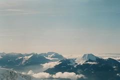 (Marine Beccarelli) Tags: sky mountains alps film analog alpes canonae1 fujifilmsuperia200 lemle