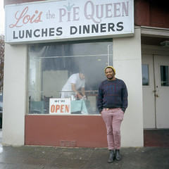 Laurence (patrickjoust) Tags: california ca usa building 6x6 film smile sign breakfast analog america standing pie restaurant oakland us focus iron flat mechanical cloudy united north patrick queen larry medium format states manual northern joust lois estados unidos loisthepiequeen fujichromeastia100f autaut laurencejones patrickjoust lipcarollopautomatic28 larsupreme