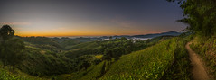 Incredible awaking (Gezy-Pics) Tags: morning panorama green nature sunrise landscape soleil early asia village rice pano sony hill north stunning asie tribe chiang rai hdr a7 treck nord lever hapiness matin thailande trecking