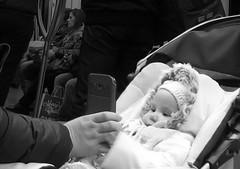 MM00A-1602 MET PHO BAB LGR (Marsel Minga) Tags: baby technology child hand phone adult watching mother smartphone virtual distraction virtuality distract