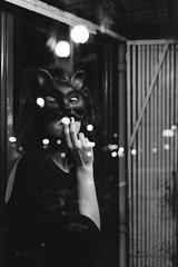 9 (laurapeagorostegui) Tags: light woman sexy valencia girl cat canon downtown centro kitty sensual catwoman gatita 2015 canon50mm14 canon6d laurapeagorostegui barbaratraver downtownkitty lauraybarbara cafeparislondon