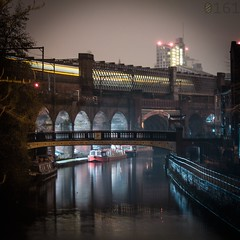 Castlefield (0-1-6-1) Tags: water architecture manchester tram arches salford waterway castlefield waterways