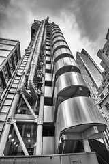 A day in The Smoke (outonalymm) Tags: london insurance lloyds limestreet richardrogers lloydsoflondon insideoutbuilding
