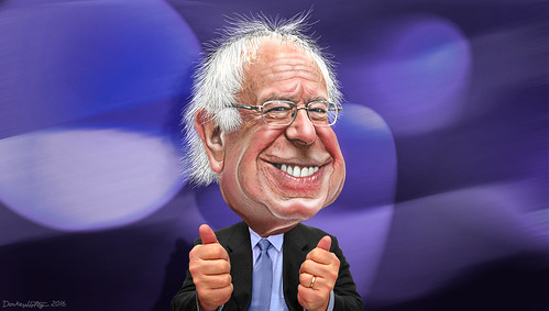 Bernie Sanders - Caricature, From FlickrPhotos