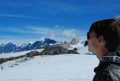 Looking into the mountains (Veronika Slavova) Tags: blue snow alaska roadtrip alaskanrange