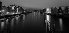 -Downtown- (Erik_Chavez) Tags: old city longexposure nightphotography snow norway night buildings norge blackwhite cityscape sony trondheim nidelva bakklandet haida nidarosdomen pilars 10mm nidelven adressa visitnorway 10stop byavisa haidafilter visitmytrondheim