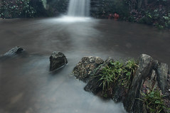 Perspective (The Original Happy Snapper) Tags: longexposure macro wet water canon river landscape waterfall moss rocks dof time outdoor valentine days depthoffield valentinesday watercourse milkywater canonef1740mmusm canon7dmkii