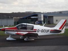 G-GCUF Robin DR 400 (Aircaft @ Gloucestershire Airport By James) Tags: robin james airport dr gloucestershire 400 lloyds egbj ggcuf