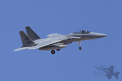 McDonnell Douglas F-15C 82-0010 (Newdawn images) Tags: plane airplane eagle aircraft aviation military nevada jet aeroplane usaf jetfighter usairforce redflag mcdonnelldouglas militaryjet f15c nellisairforcebase canoneos6d 820010 122ndfightersquadron 122ndfs