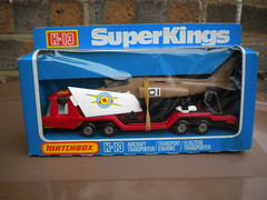 Vintage Matchbox Super Kings K13 Aircraft  Transporter 1970's Retro Toy Boxed (beetle2001cybergreen) Tags: vintage toy aircraft super retro kings 1970s boxed matchbox superkings transporter k13