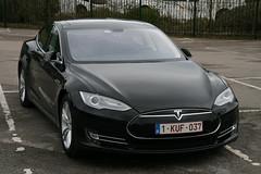 Tesla Model S (davocano) Tags: brooklands winterclassicbreakfast 1kuf037