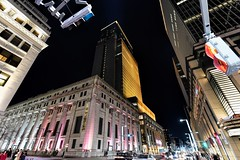 Nihonbashi Impressions (Matthias Harbers) Tags: life street city light urban cars japan night photoshop shopping tokyo trafficlight town nikon crossing elements labs d750 dxo topaz nikond750 tamron1530mmf28divcusd