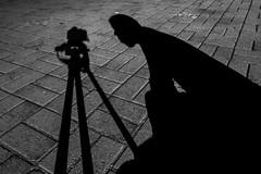 Shadow Self (rod.hokpicture) Tags: shadow blackandwhite monochrome self nikon sombra pretoebranco monocromtico nikonflickraward d3100