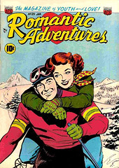 Romantic Adventures 29 (Michael Vance1) Tags: woman man art love comics artist marriage romance lovers dating comicbooks relationships cartoonist anthology silverage