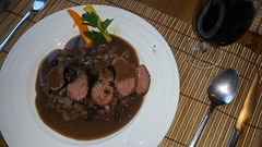 2016-02-12 18.29.38 (Damien_Toman) Tags: new wild cooking beans hare jus sauce au zealand nz seared malbec reduction