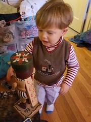 Sam and the nutcracker (quinn.anya) Tags: toy toddler sam nutcracker
