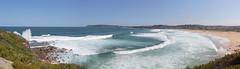 Curl Curl beach (LSydney) Tags: panorama beach surf waves curlcurl