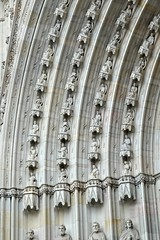 Four saints (jurek d. (Jerzy Durczak)) Tags: barcelona cathedral saints