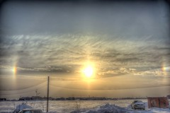 ABC_7442s (savillent) Tags: morning winter sky snow canada clouds sunrise landscape francis march nikon northwest good lol arctic anderson conspiracy sundog climate territories 2016 harrp tuktoyaktuk geoengineering