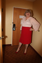 new121903-IMG_6169t (Misscherieamor) Tags: tv transformation feminine cd femme motel tgirl transgender mature sissy tranny transvestite crossdress ts gurl tg travestis travesti travestido travestie m2f pencilskirt xdresser tgurl traviesa travestito travestit sheerblouse invertedpleats