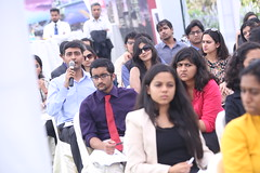 Young Thinkers Conversation in Delhi (UK in India) Tags: india friday royalholloway universityoflondon britishhighcommission ndtv 2rajajimarg greatcampaign newdelhi mahimakaul twitter socialmedia 4march2016 drtimstevens ambassadorlathareddy youngthinkersconversation nidhirazdan