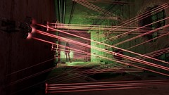 Fallout4 - Laser tripwires galore (tend2it) Tags: game pc screenshot elise 4 nuclear xbox security rpg jamaica future laser plains turret apocalyptic fallout tripwire injector postprocessing ps4 reshade fallout4 screenarchery