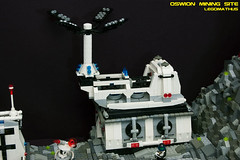 15_Power_plant (LegoMathijs) Tags: expedition layout wire mod energy power lego crystal space el vehicles astronauts modular planet scifi 20 functions mindstorms sattelite drill containers grapple spaceships miners moc nxt ores legomathijs oswion