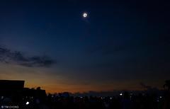 Total Solar Eclipse (oeyvind) Tags: indonesia idn balikpapan boeing737 kalimantantimur  gerhanamataharitotal