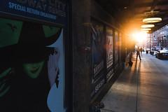 St Patricks Sunrise (Kevin VanEmburgh Photography) Tags: street city urban streetart sunrise vanishingpoint downtown streetphotography kansascity brightlight citylights citystreets kc kcmo lowsun pointoflight kansascitysunrise kevinvanemburghphotography