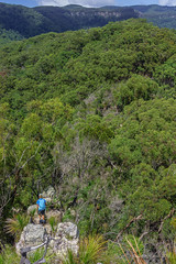 The Pinnacle - Looking down (NettyA) Tags: australia bushwalking qld queensland bushwalk thepinnacle springbrook goldcoasthinterland 2016 springbrooknationalpark scenicrim seqld warriecircuit scbwc sonya7r