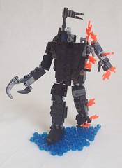 Mech/Jaeger Thing (Sir Nagol) Tags: ocean water lego pacific si jaeger fi rim mech sifi