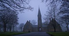 The Approach (davieb123) Tags: urban mist cemetery fog gloom tyneside hebburn sigma1020 canon600d