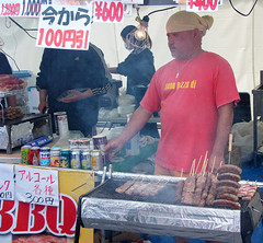 #7782 churrasco = Brazilian BBQ (Nemo's great uncle) Tags: people food bbq meat  odaiba churrasco  aomi  kotoku braziliancarnival  tky
